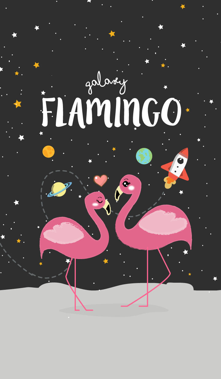 【主題】Flamingo Galaxy