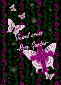 Jewel cross -Rose Garden 2-