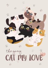 แก๊งแมว ที่รักของฉัน