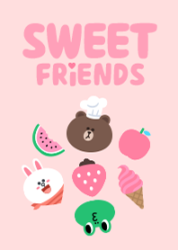 Free Download Line Theme | LINE Sweet Friends