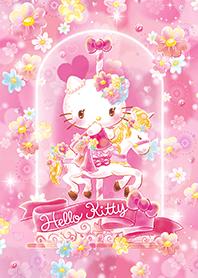 เฮลโลคิตตี สวนดอกไม้สีชมพู