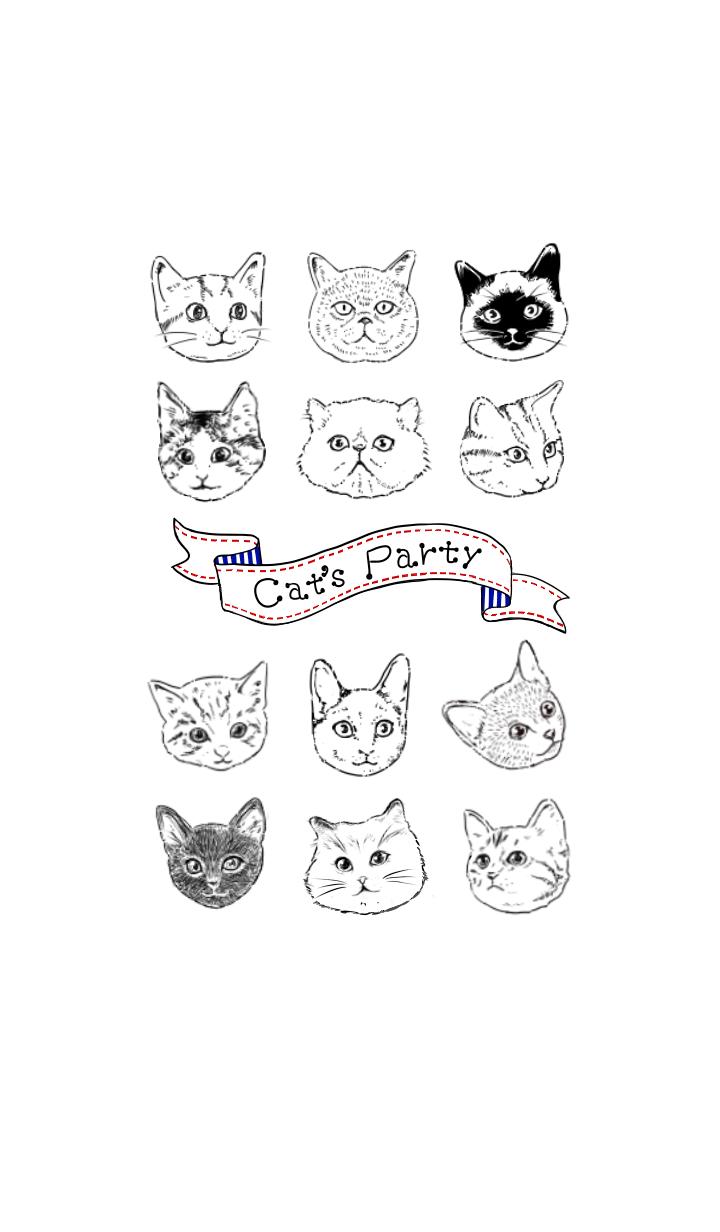 【主題】Cat's Party