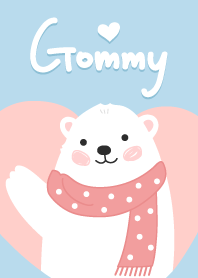 Gommy : sweet polar bear theme