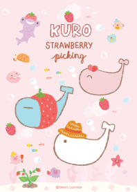 Kuro & Friends : Strawberry Picking
