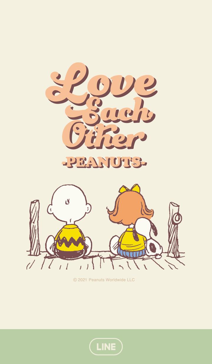 【主題】Snoopy Love each other