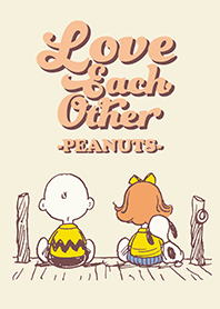 Snoopy: Love each other