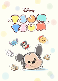 Disney Tsum Tsum(慵懶可愛篇)