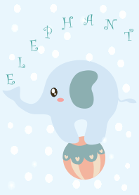 มีความสุขที่เรียบง่าย Blue Elephant