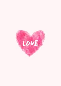 LOVE heart- watercolor-