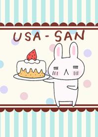"""USA-SAN"" rabbit"