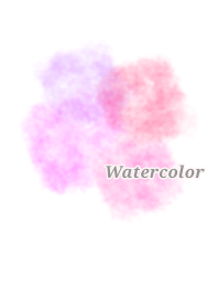 Watercolor pink color