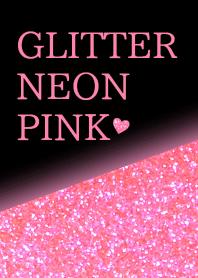 Glitter Neon Pink
