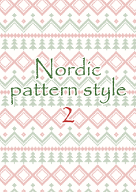 Nordic pattern style 2