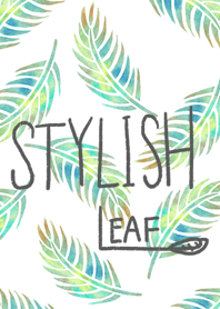stylish leaf