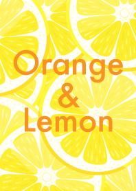 ส้มและมะนาว