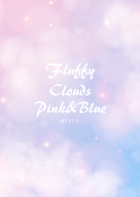 Fluffy Clouds Pink&Blue
