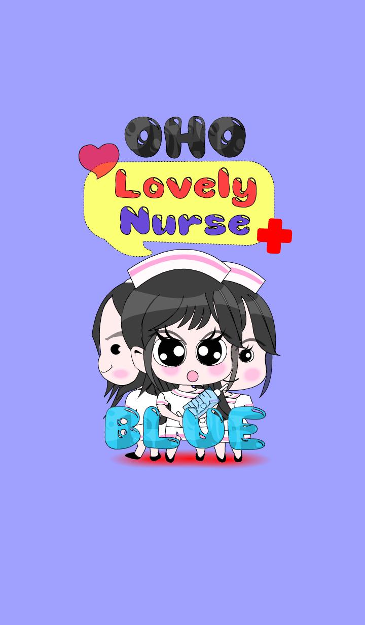 OHO Lovely Nurse Blue