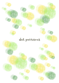 dot pattern10 - watercolor painting-