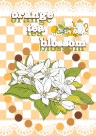 orange tea blossom