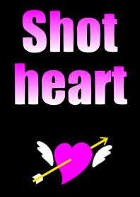 Shot heart