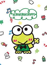ธีมไลน์ KEROKEROKEROPPI (สไตล์รูปวาด)