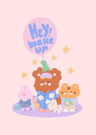 Good Daizy : Hey! Wake up