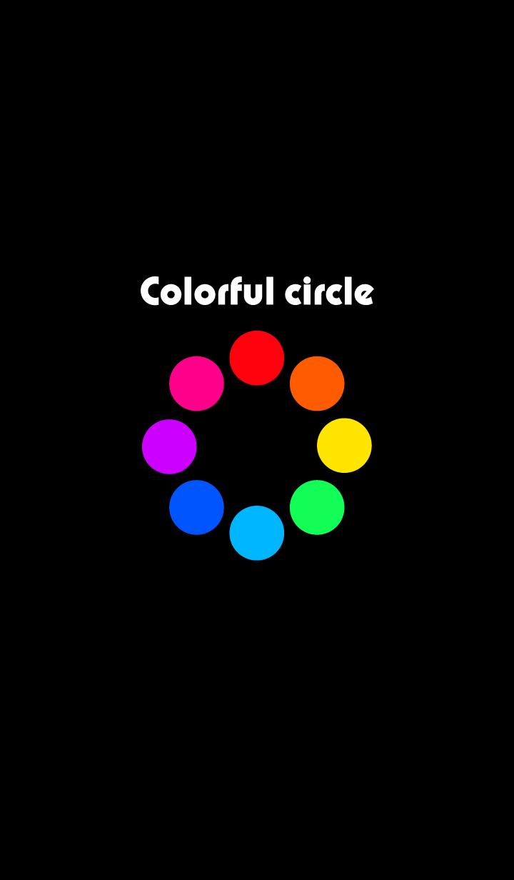 colorful circle.
