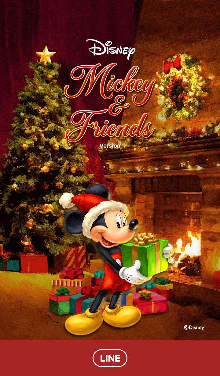 【主題】Mickey Mouse & Friends(聖誕節)