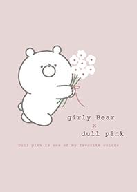 น้องหมีแบ๊ว x สีชมพูอบอุ่น