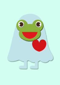 Rain kappa frog