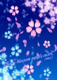 cherry blossom petals swirl [mix]